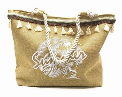 HAND MADE kabelky z Vás udělají královnu pláže i udržitelné módy