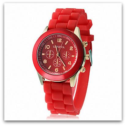 8658d5f04 HODINKY GENEVA UNISEX 10764545-1 červená