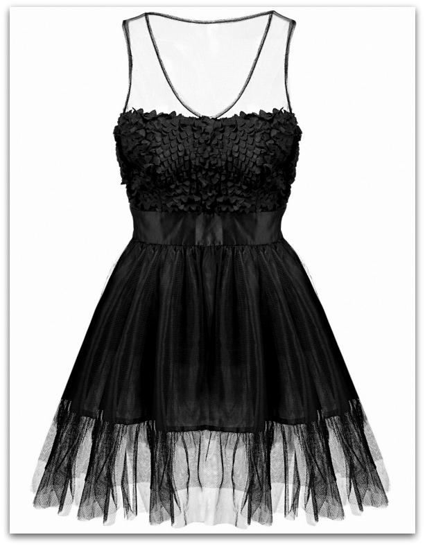 5fcdc2196e5 Společenské šaty do tanečních MINI 70831-2 černá XS S M