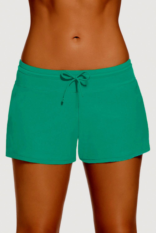 Dámské sportovní šortky kraťasy 1419771-30 zelená M 1e5cc72739