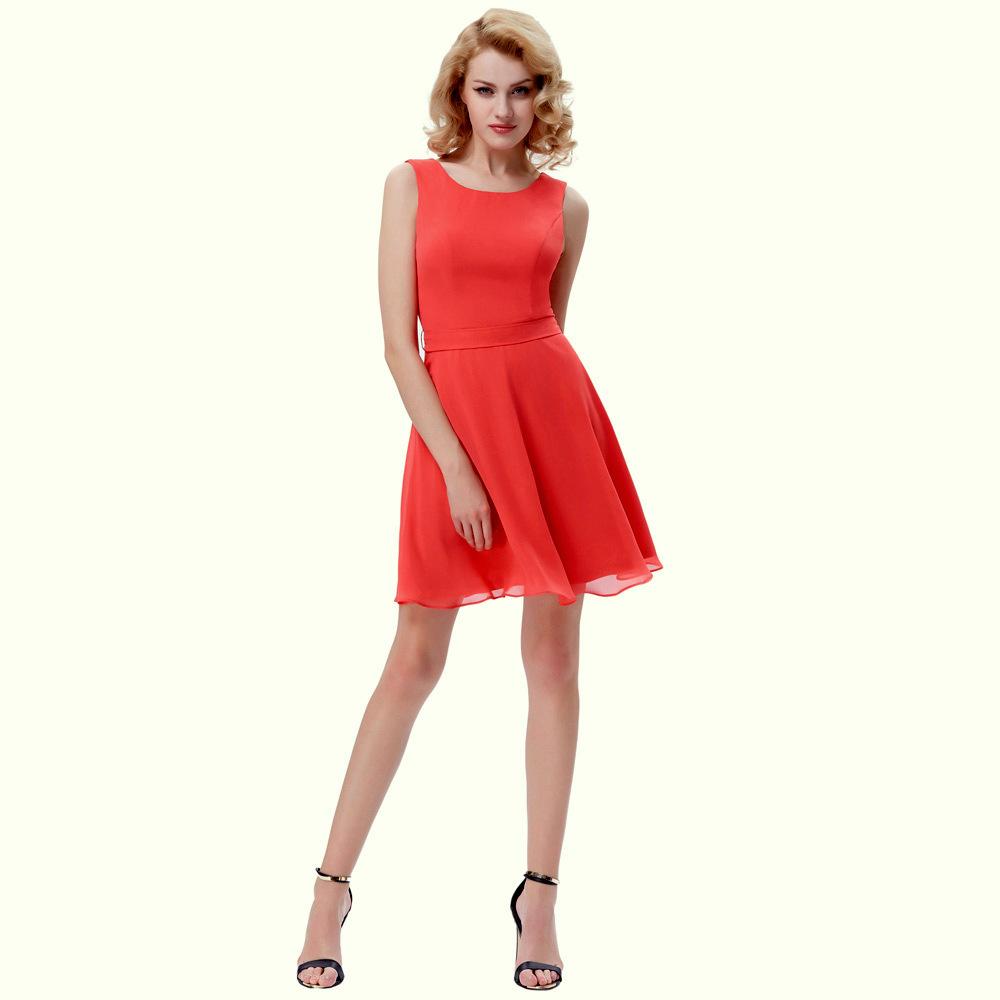 73550619934 Krátké MINI ŠATY kolová sukně KATE KASIN KK000625-2 sytě růžová M   38