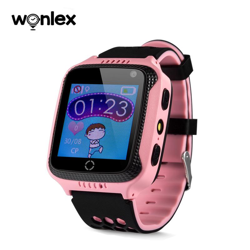 Wonlex SmartWatch GW500S-1 růžová s fotoaparátem 6a0ebbdbe7