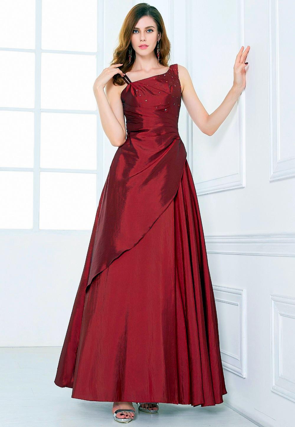 2c62664a0e42 Grace Karin luxusní plesové a společenské šaty CL6078-7 vínová XS