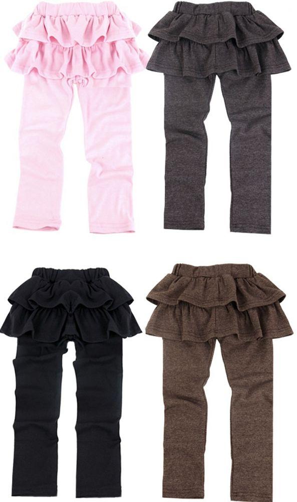 c340aa9261f Dětské LEGÍNY se sukní 818558 4 barvy 100