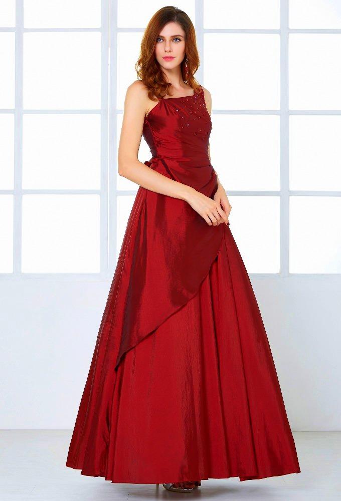 8a2db6f54dbb ... Grace Karin luxusní plesové a společenské šaty CL6078-7 vínová XS