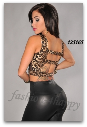 SEXY TOP leopard 125165 leopard