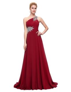 7398f9b443d7 Grace Karin luxusní plesové a společenské šaty CL2949-7 vínová S ...